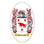 Treverton Sticker (Oval 10 pk)