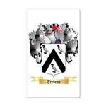 Trevena Rectangle Car Magnet