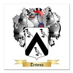 Trevena Square Car Magnet 3