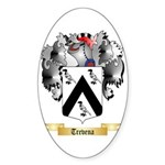 Trevena Sticker (Oval 50 pk)