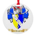Trest Round Ornament