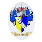 Trest Oval Ornament