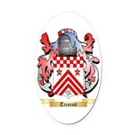 Trescott Oval Car Magnet