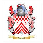 Trescott Square Car Magnet 3