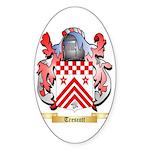 Trescott Sticker (Oval 50 pk)