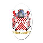 Trescott 35x21 Oval Wall Decal