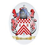 Trescott Oval Ornament