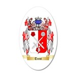 Trent 35x21 Oval Wall Decal
