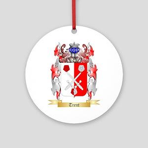 Trent Round Ornament