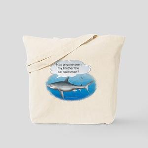 Auto Finance Shark Tote Bag