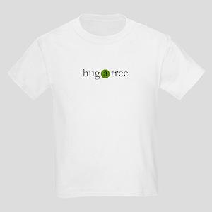 hug a tree Kids Light T-Shirt