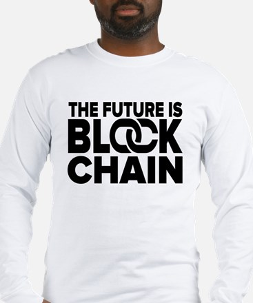 The Future is Blockchain Long Sleeve T-Shirt