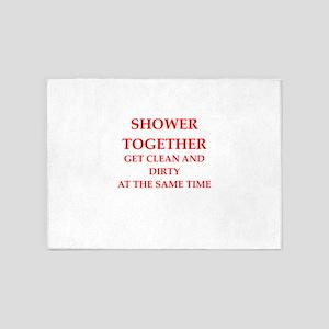 shower 5'x7'Area Rug