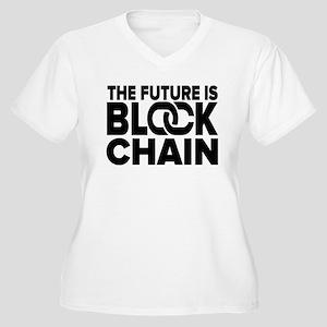 The Future is Blockchain Plus Size T-Shirt