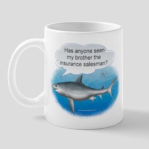 Insurance Salesman Shark Mug