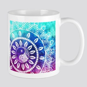Divine Dream Pink Purple Blue Mandala Mugs