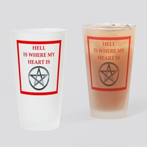 hell Drinking Glass