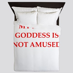goddess Queen Duvet