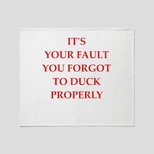 fault Throw Blanket