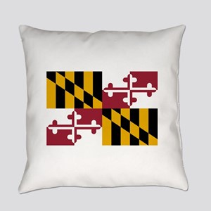Maryland State Flag Everyday Pillow