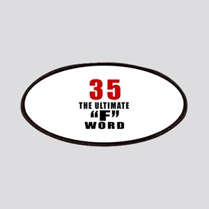 35 The Ultimate Birthday Patch