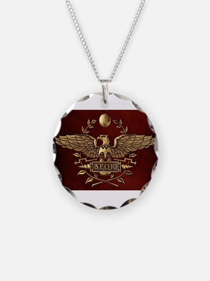 Roman Eagle Necklace