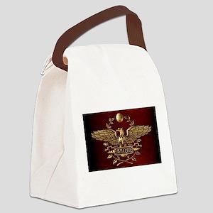 Roman Eagle Canvas Lunch Bag
