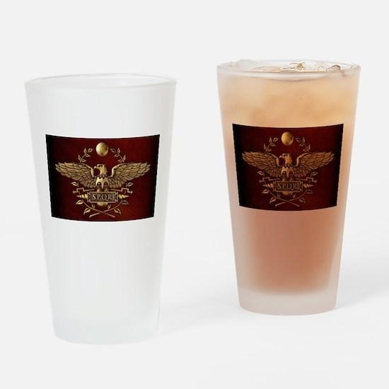 Roman Eagle Drinking Glass