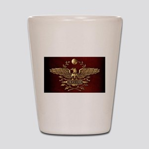 Roman Eagle Shot Glass