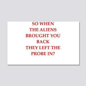 alien joke Wall Decal