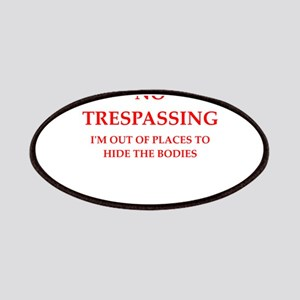 trespassing Patch