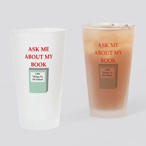book Drinking Glass