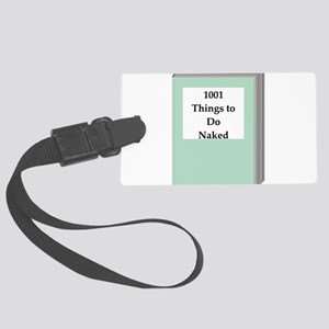 book Luggage Tag