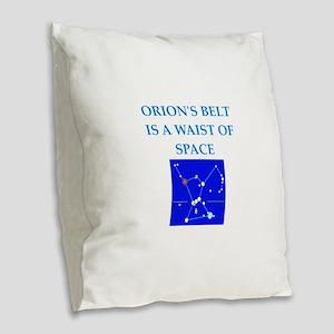 funny joke Burlap Throw Pillow