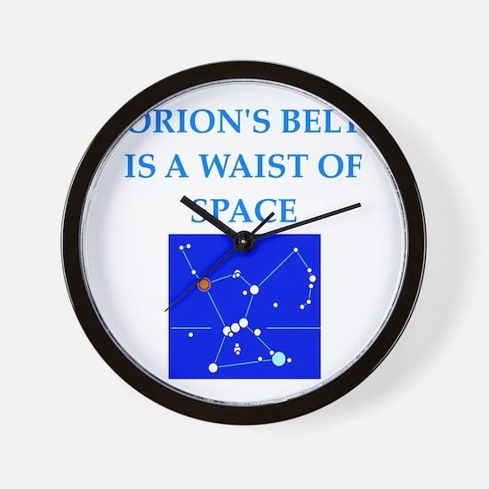 funny joke Wall Clock