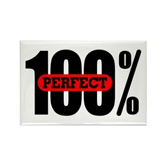 100% Perfect Rectangle Magnet (100 pack)
