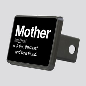 Mother Therapist Rectangular Hitch Cover