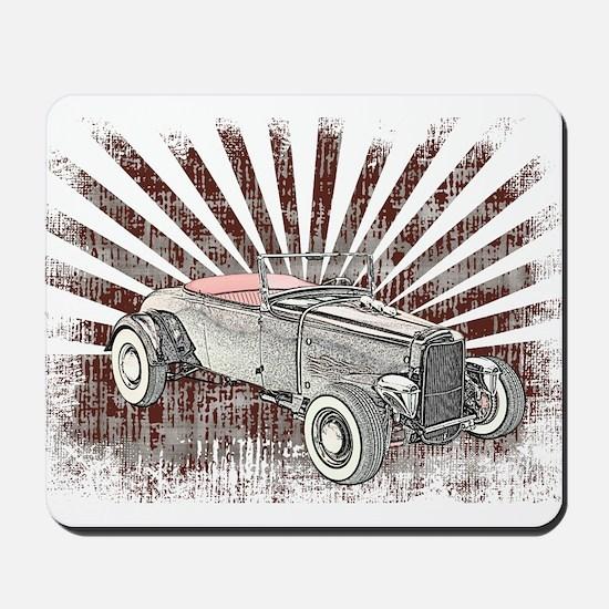 Ford Hot Rod Mousepad