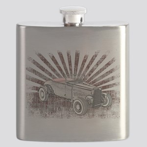 Ford Hot Rod Flask