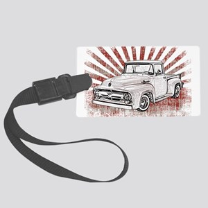 1956 Ford Truck Large Luggage Tag