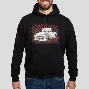 1956 Ford Truck Hoodie (dark)