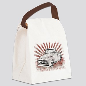 1956 Ford Truck Canvas Lunch Bag