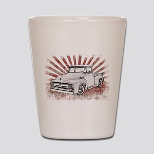 1956 Ford Truck Shot Glass