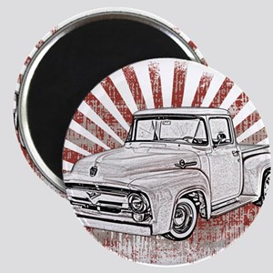 1956 Ford Truck Magnet