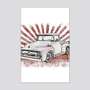 1956 Ford Truck Mini Poster Print
