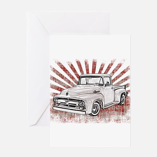 1956 Ford Truck Greeting Card