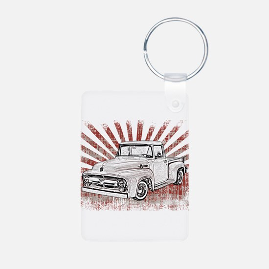 1956 Ford Truck Keychains