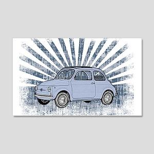 Fiat Topolino 20x12 Wall Decal