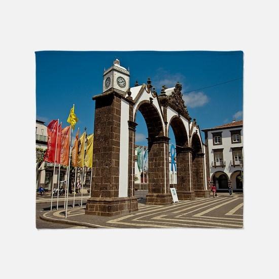 Ponta Delgada, Azores Throw Blanket