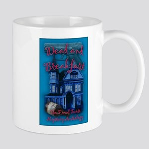 Dead and Breakfast Front sm Mugs